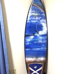 スプレーアート/サーフボード 中古のサーフボードにスプレーアートした物…