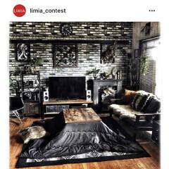 団地インテリア/団地暮らし/団地DIY/フェイクグリーン/インダストリアル/男前インテリア雑貨/... limia_contestにて取り上げて…