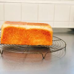 アンティーク/ケーキクーラー/幸せ/あさ/手作りパン/ミニ食パン/... パパちゃんが焼いてくれたミニ食パンで朝か…(2枚目)