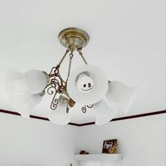 電球/照明/エアコン/ホワイトインテリア/リビング/マスキングテープ/... マステでハロウィン💀☠⚔👻 誰が最初に気…