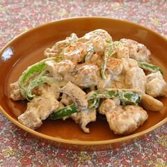 かさ増し/節約/エリンギ/鶏肉/おうちごはん/クリスマスレシピ 【チキンと野菜のマヨチリソース和え】 鶏…