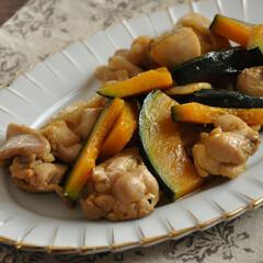 おうちごはん/節約/簡単/レシピ/鶏肉/かぼちゃ/... 【鶏肉とかぼちゃの甘辛炒め】 かぼちゃと…