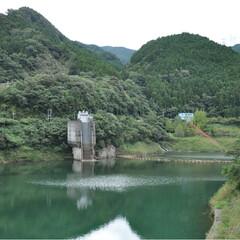ドライブ/行楽の秋/自然あふれる景色/ダム/ダム女/おでかけ 先週のお出かけフォト。 徳島県上勝町と言…