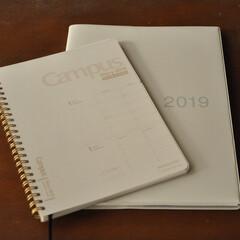 キャンパスダイアリー 手帳 2019年 マンスリー&ウィークリー 1月始まり | コクヨ(手帳)を使ったクチコミ「キャンパスの手帳は、書き心地が良くて、手…」
