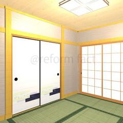 和室/襖/張替え/リフォーム 和室の襖イメージです(^-^)