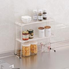 キッチン収納/収納/シンク下収納 DCMブランド「積み重ね棚」  その名の…