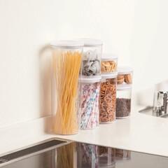 保存容器/キッチン/キッチン収納/台所用品 DCMブランド「中身が見える保存容器」 …