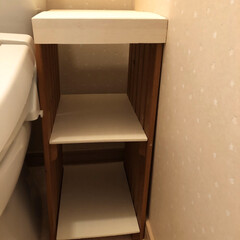 ハンドメイド雑貨/トイレ/配線隠し/簡単DIY/トイレ収納/最近買った100均グッズ/... 失礼😅おトイレの写真です。 今朝saku…(3枚目)