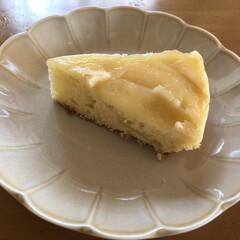 リミとも部/syunkonカフェごはん/山本ゆりさんレシピ/今日のおやつ/りんご/手作りりんごジャム/... りんごのアップサイドダウンケーキ🍎 私も…