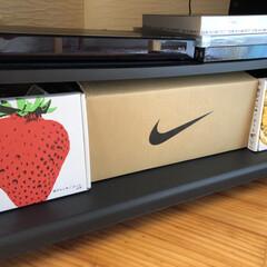 ライブDVD/生活の知恵/収納/インテリア/節約/簡単/... DVD📀収納。 靴の空き箱にぴったりなの…
