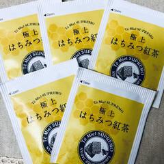 極上はちみつ紅茶(ティーバッグ紅茶)を使ったクチコミ「ラクシュミーの極上はちみつ紅茶。 初めて…」