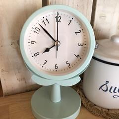 目覚まし時計/リミとも部/大奮発/ダイソーの時計/時計/100均/... 洗面所の時計がめげたので、 ダイソーで大…