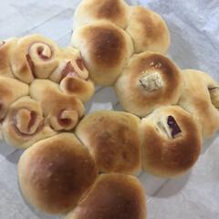さつまいもパン/ハムパン/ホームベーカリー/パン/手作りパン/おはぎ/... めっちゃ食べたかったお・は・ぎ。 昨日ス…(3枚目)