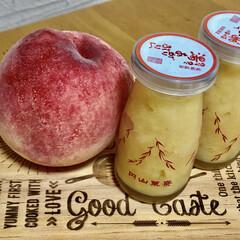 手作りジャム/桃ジャム/桃/簡単 いただき物の桃🍑で桃ジャム。 あとで知っ…