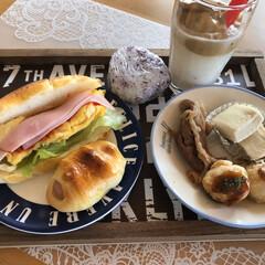 鶏肉のレモン漬け/ロールパンサンド/limiaキッチン同好会/新生活/ダイソー/セリア/... ダルゴナコーヒー、 こうたのみたいやな(…