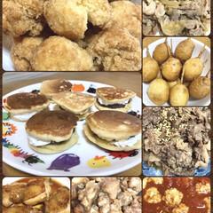 お弁当おかず/ホットケーキミックス/サーターアンダギー/生どら/手作りおやつ/作り置きおかず/... 今日はお弁当おかず作りday🍱 疲れた〜…