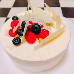 スィーツ男子/チーズケーキムース/パティシエお勉強中/パティシエ/スィーツ/スィーツ大好き/... 息子s'スィーツ 『チーズムースケーキ』…