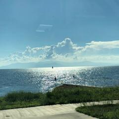旅行/お天気/景色がキレイ/景色風景/琵琶湖/長浜/...