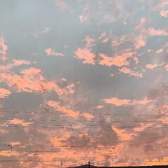 日常/かわいい/景色風景/LIMIAフォト同好会/ピンク/夕日が綺麗/... 昨日の連休最終日🌇🌅 夕日がとってもキレ…