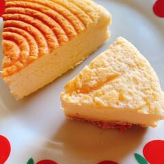 スィーツ男子/スィーツ大好き/スイーツ/LIMIAスイーツ同好会/LIMIAスイーツ愛好会/美味しい/... にいにお手製スフレチーズケーキとベイクド…