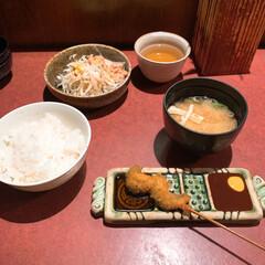 lunch/lunchタイム/LIMIAお出かけ部/LIMIAおでかけ/串の坊/串カツ/... 今日のlunch 串の坊で串カツ食べて美…