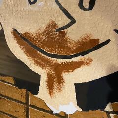 お気に入り/ダイニング/リビングダイニング/リビングインテリア/穴あけパンチ/穴あけパンチアート/... 14年ぐらい玄関に飾りっぱなしにして…(3枚目)