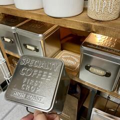キッチン収納/ラブリコ/調味料ラックDIY/DIY/棚/キッチン/... キッチン側とダイニング側の両方から調味料…(5枚目)