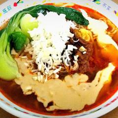 食べに行くより美味しい/ラーメン/辛い/手作り/夕飯/四川風/... 暑い夏には辛さで夏バテを吹き飛ばす!四川…