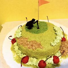 誕生日ケーキ/ゴルフ/令和元年フォト投稿キャンペーン