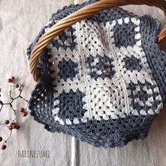 ハンドメイド/Handmade/かぎ針/編み物/かぎ針編み/お花/...