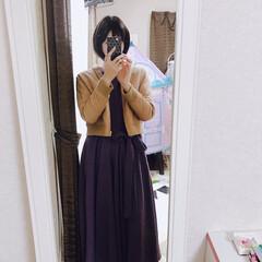 ファッション 今日のファッション♡ 最近、本当春めいて…