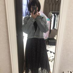 ファッション 今日のファッション☆ 暖かかったのでGジ…