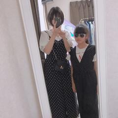 ファッション シツコイですが…笑 リンクコーデ続きです♡