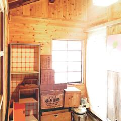 アンティーク/レトロ/古道具のある暮らし/古道具/DIY  一人暮らしの時に使っていたレトロ食器棚…