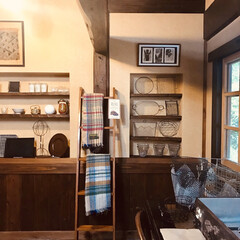 雑貨カフェ/カフェレストラン/カフェ/貰い物/フォロー大歓迎/LIMIAインテリア部/... 久しぶりに家のカフェ食堂に行ったら、雑貨…