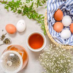 紅茶/花のある暮らし/ティータイム/春のフォト投稿キャンペーン/ありがとう平成/令和カウントダウン/... Happy Easter! 🐰❤️🐣(1枚目)