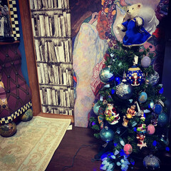 クリスマスツリー/雑貨/住まい/暮らし/ここが好き こんにちは~。😊 クリスマスツリーはじめ…