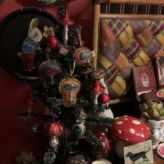 クリスマスツリー/雑貨/住まい/暮らし/ここが好き クリスマスツリーはじめました。🎄💕🎶