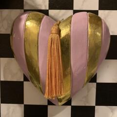 雑貨/暮らし/玄関あるある 玄関に飾っている物…ハートのオブジェ。 …