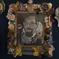 フレーム/マッケンジーチャイルズ/アートのある暮らし/アート/セルフペイントの壁/雑貨/... お気に入りのフレーム。☔️ こちらはマッ…
