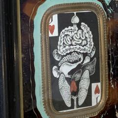 インテリア/アンティークフレーム/雑貨 ナポレオン3世時代のアンティークのフレー…(5枚目)