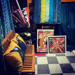 和室を洋室に/雑貨/住まい/暮らし/ここが好き こちらはリビング続きの和室です。子供部屋…