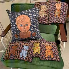 ma macaron 「博物部屋」/雑貨/おでかけ/リミアの冬暮らし 大好きな刺繍アーティストさんのポップアッ…(1枚目)