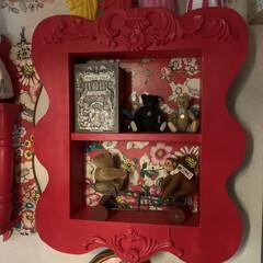 テディベア/シュタイフ/アート/アートのある暮らし/LIMIAインテリア部/雑貨/... おはようございます。 こちらは寝室に飾っ…