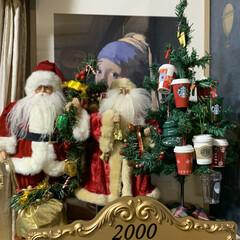 スタバのオーナメント/サンタクロース/クリスマス2019/リミアの冬暮らし/雑貨/住まい クリスマスのイベントに参加します。 こち…