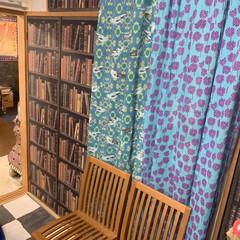 和室を洋室に/カーテン/LIMIAインテリア部/雑貨/暮らし/雑貨だいすき 雑貨大好き。💕 目隠し用のカーテンを変え…