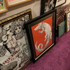 ワニ/ボリス雑貨店/複製画/ヒグチユウコ/アートのある暮らし/アート/... テーマは  「アートのある暮らし」芸術の…(2枚目)