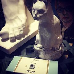 石膏像/香炉/アスティエドヴィラット/雑貨/インテリア/住まい/... 私のお気に入りのアスティエの猫ちゃん💕 …