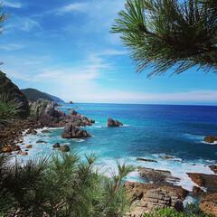家族旅行/LIMIAおでかけ部/おでかけ/ブルー 天草の海。東シナ海。