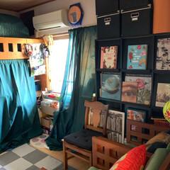 カーテン/和室を洋室に/元和室/LIMIAインテリア部/暮らし/住まい/... おはようございます。こちらは和室です。子…